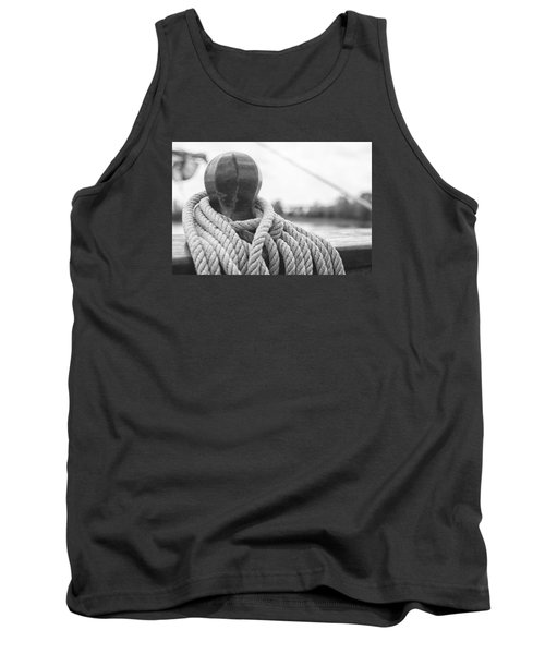 Beneath The Sail Coiled Rope Tank Top by Bob Decker