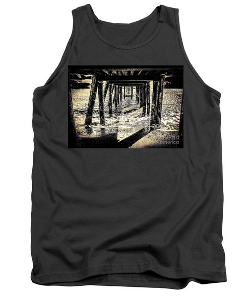 Tank Top featuring the photograph Beneath by William Wyckoff