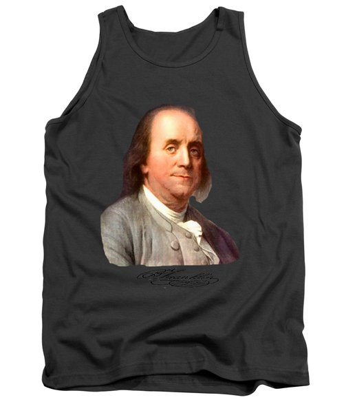 Benjamin Franklin Tank Top