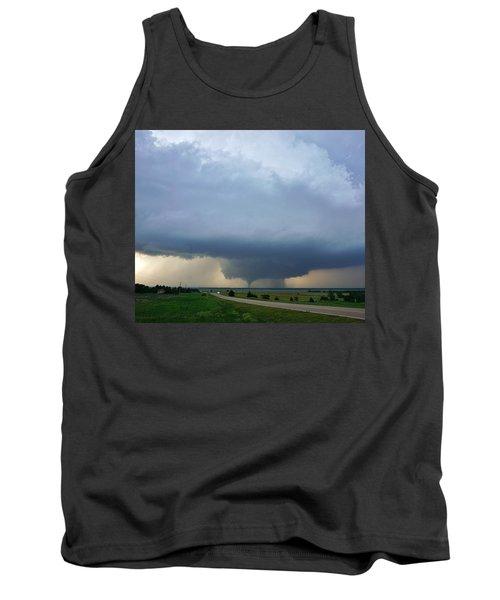 Bennington Tornado - Inception Tank Top by Ed Sweeney