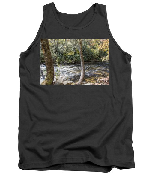 Bent Tree River Tank Top by Ricky Dean