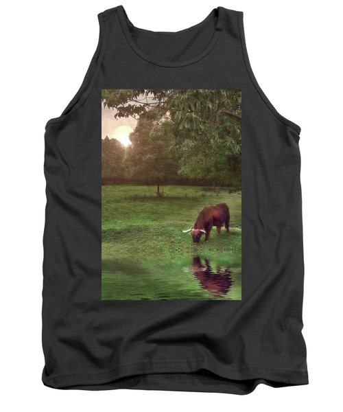 Tank Top featuring the photograph Beside Still Waters by Mark Fuller