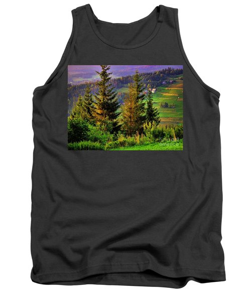 Tank Top featuring the photograph Beskidy Mountains by Mariola Bitner