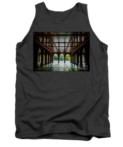 Bethesda Terrace Arcade 2 Tank Top by James Aiken