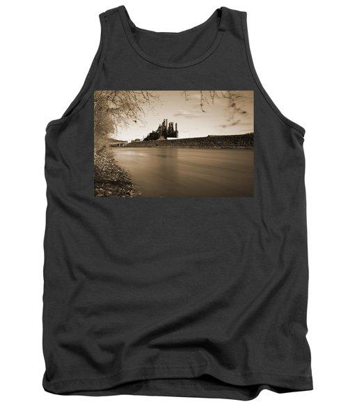 Tank Top featuring the photograph Bethlehem Steel Along The Lehigh by Jennifer Ancker