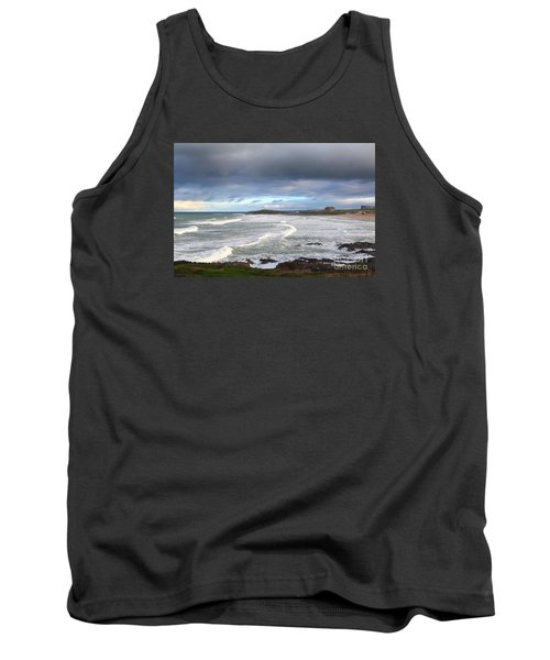 Tank Top featuring the photograph Between Cornish Storms 1 by Nicholas Burningham