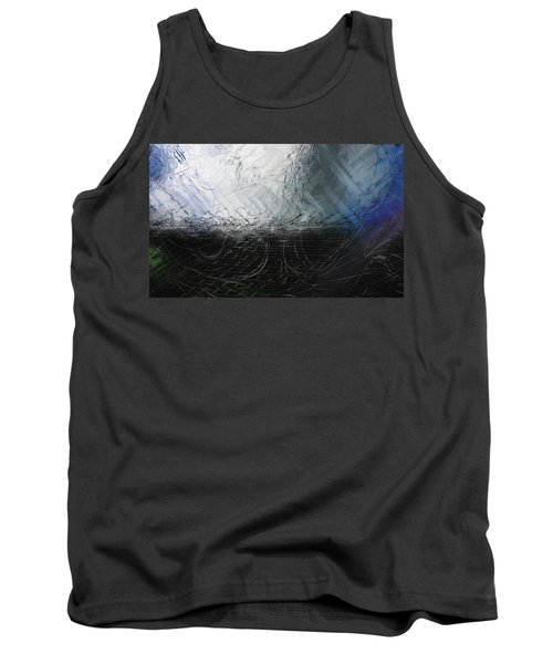 Tank Top featuring the digital art Between Us, This Melancholy Sea by Wendy J St Christopher