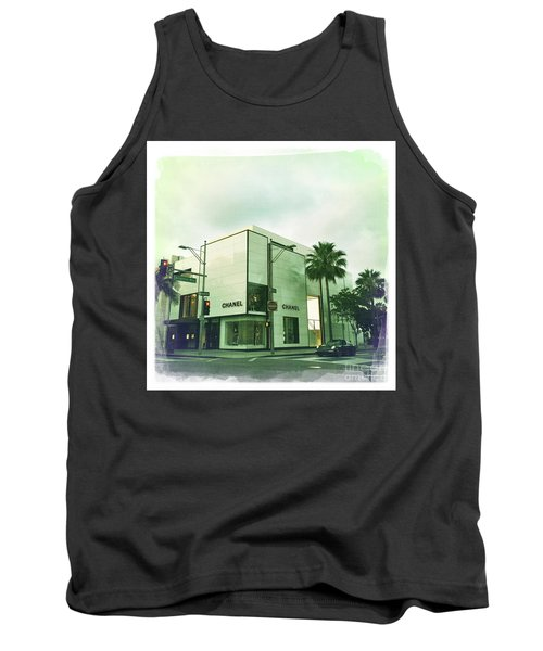 Beverly Hills Rodeo Drive 13 Tank Top by Nina Prommer