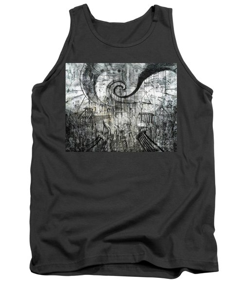 Beware Of Darkness Tank Top by Rhonda Strickland