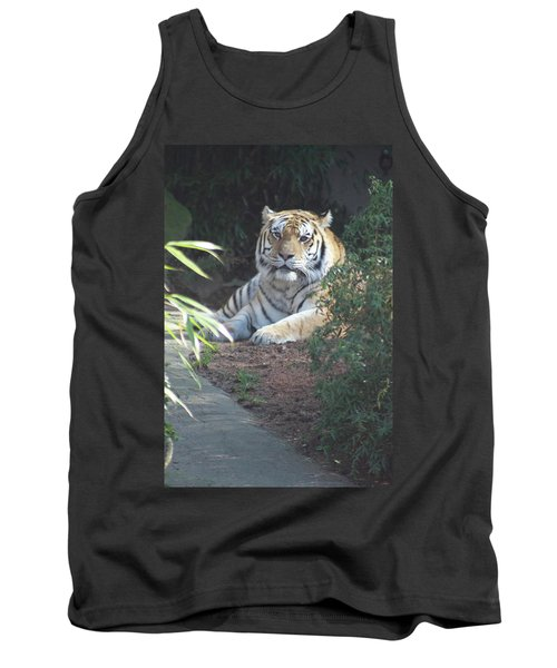 Tank Top featuring the photograph Beyond The Branches by Laddie Halupa