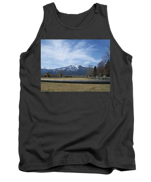 Tank Top featuring the photograph Beyond The Field by Jewel Hengen