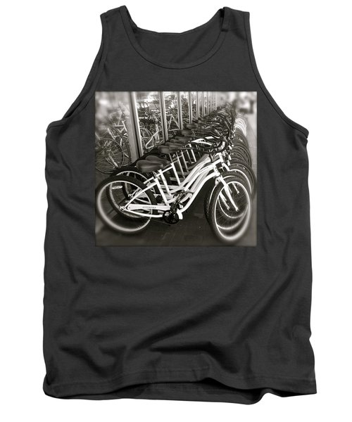 Bicycles In Belmont Shore Tank Top