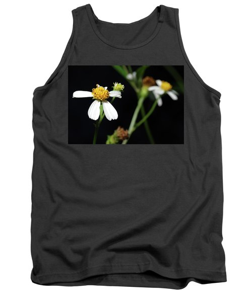 Bidens Alba Tank Top by Richard Rizzo
