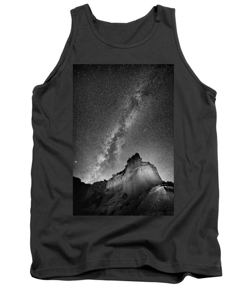 Tank Top featuring the photograph Big And Bright In Black And White by Stephen Stookey