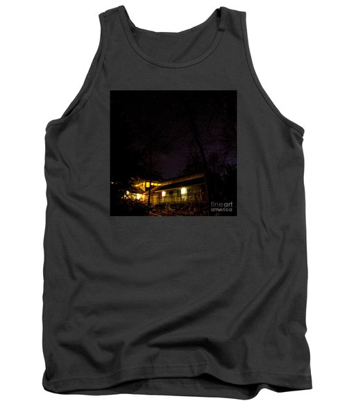 Tank Top featuring the photograph Big Dipper Over Hike Inn by Barbara Bowen