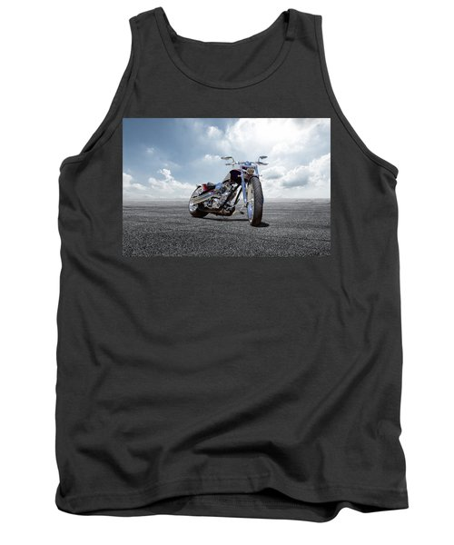 Tank Top featuring the photograph Big Dog Pitbull by Peter Chilelli