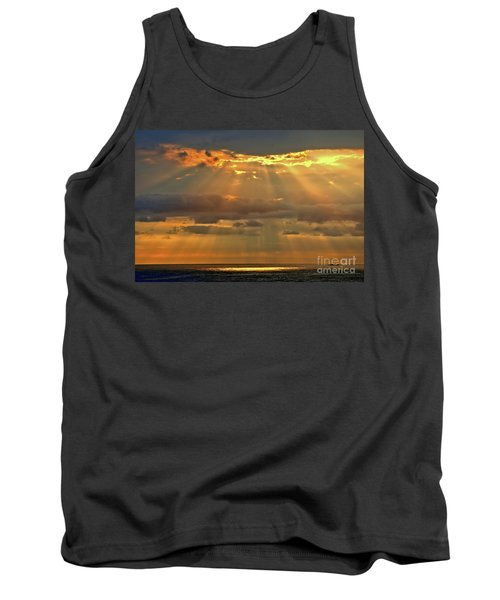 Tank Top featuring the photograph Big Island Rays by DJ Florek