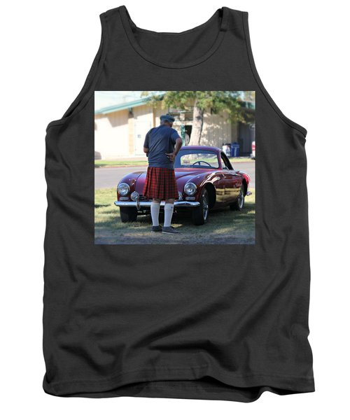 Big Man Little Car Tank Top