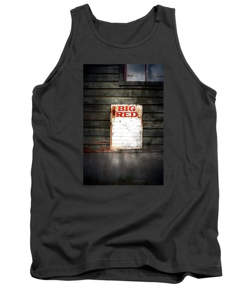 Tank Top featuring the photograph Big Red by Newel Hunter