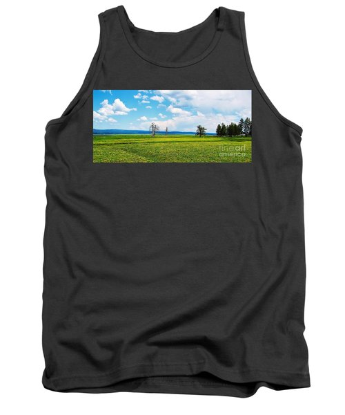Big Summit Prairie In Bloom Tank Top by Michele Penner