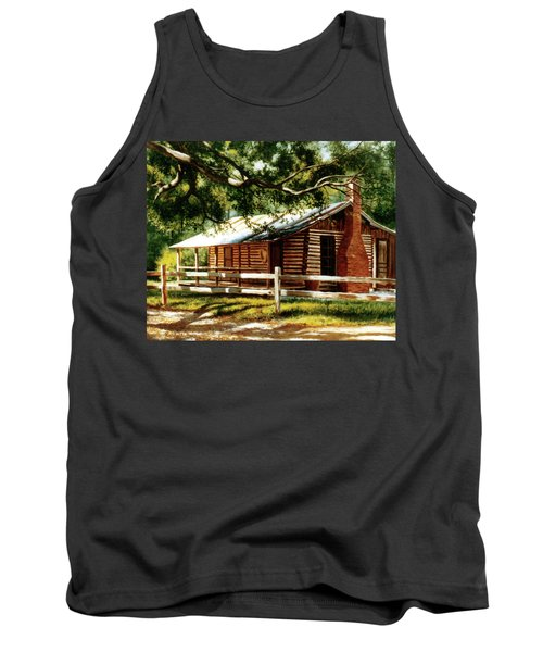 Big Thicket Information Center_the Staley Cabin Tank Top