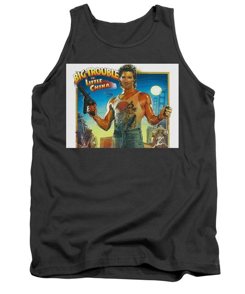 Big Trouble In Little China Tank Top