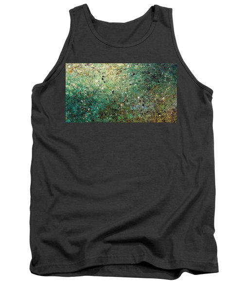 Tank Top featuring the painting Big Universe - Abstract Art by Carmen Guedez