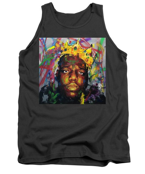 Biggy Smalls II Tank Top by Richard Day