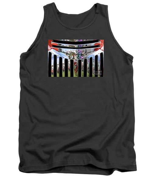 Chevrolet Grille 02 Tank Top by Rick Piper Photography