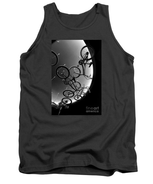 Tank Top featuring the photograph Bike Dreams by Trey Foerster