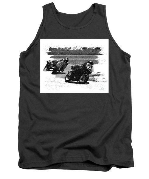 Biker Race Tank Top