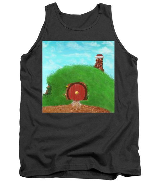 Bilbo's Home In The  Shire Tank Top by Kevin Caudill