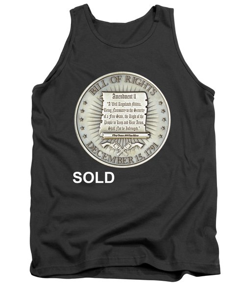 Bill Of Gun Rights Tank Top