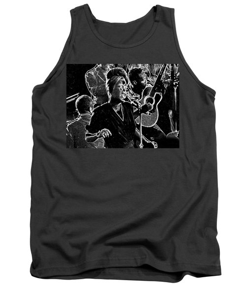 Billie Holiday Tank Top by Charles Shoup