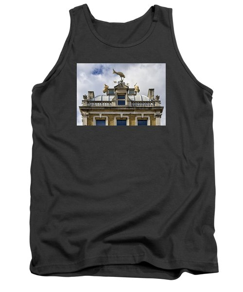 Tank Top featuring the photograph Billingsgate Fish Market London by Shirley Mitchell