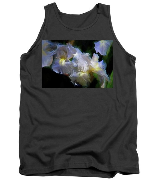 Billowing Irises Tank Top