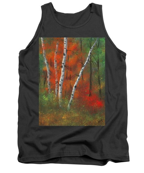 Birches II Tank Top by Garry McMichael