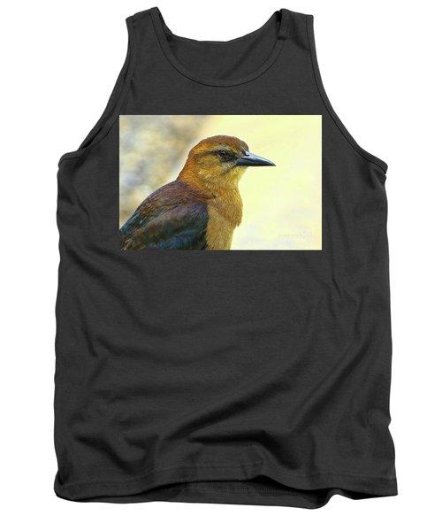 Tank Top featuring the photograph Bird Beauty by Deborah Benoit