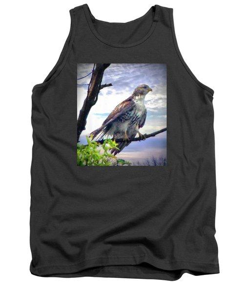 Bird Of Prey Tank Top by Cedric Hampton