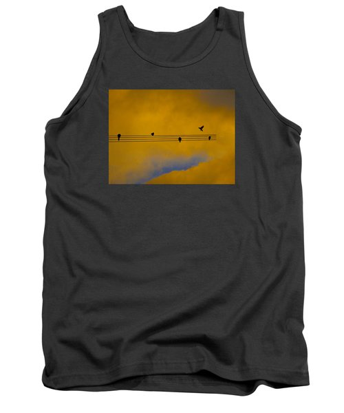 Bird Song Tank Top by Mark Blauhoefer