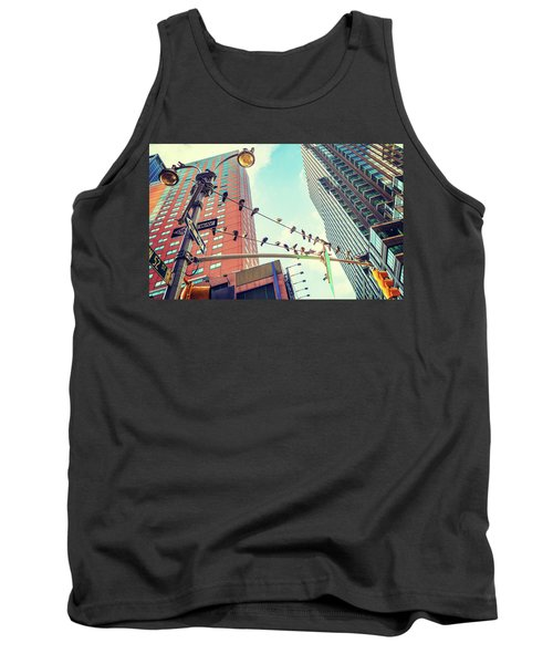 Birds In New York City Tank Top