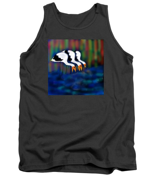 Birds Of Same Feather Tank Top by Latha Gokuldas Panicker