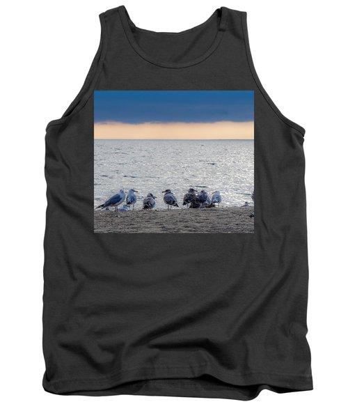 Birds On A Beach Tank Top