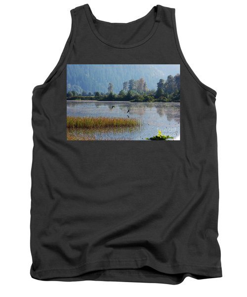Birds Paradise Tank Top by Victor K