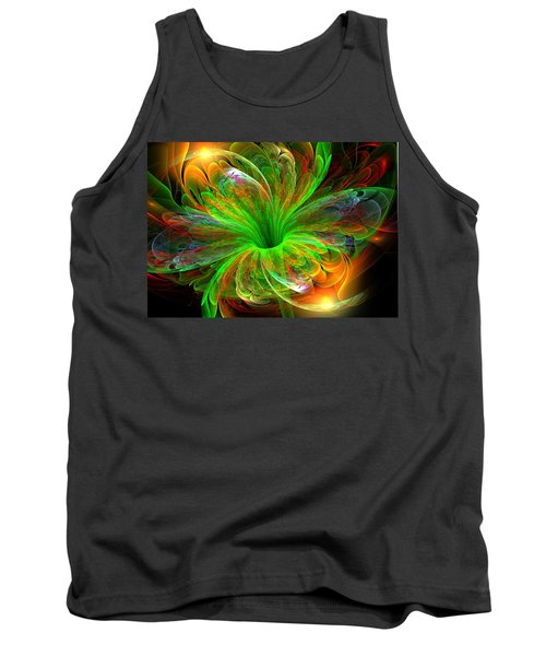 Tank Top featuring the digital art Birst Of Spring by Svetlana Nikolova