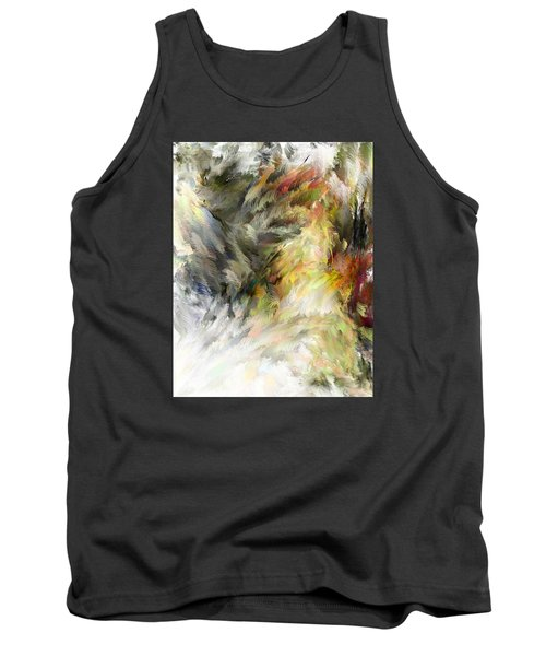 Birth Of Feathers Tank Top by Dale Stillman