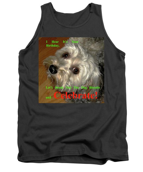 Birthday Tank Top by Dale Ford