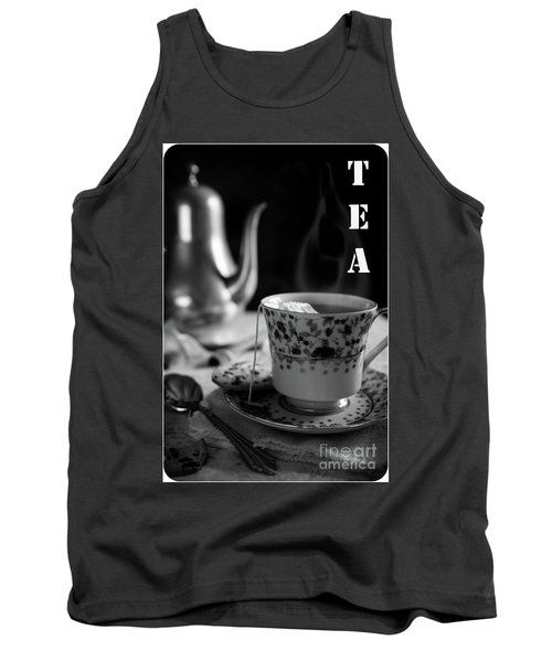 Tank Top featuring the photograph Biscotti And Tea by Deborah Klubertanz