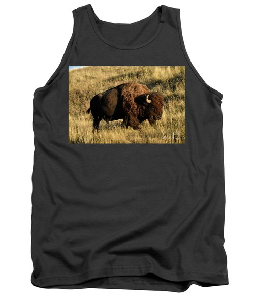 Bison  Tank Top by Cindy Murphy - NightVisions