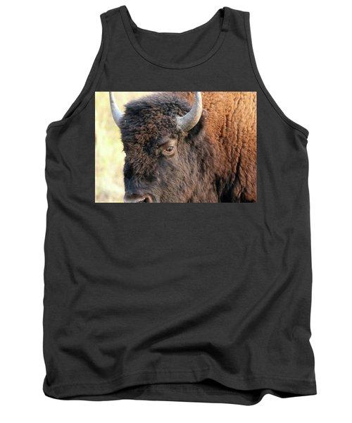 Bison Head Study Tank Top